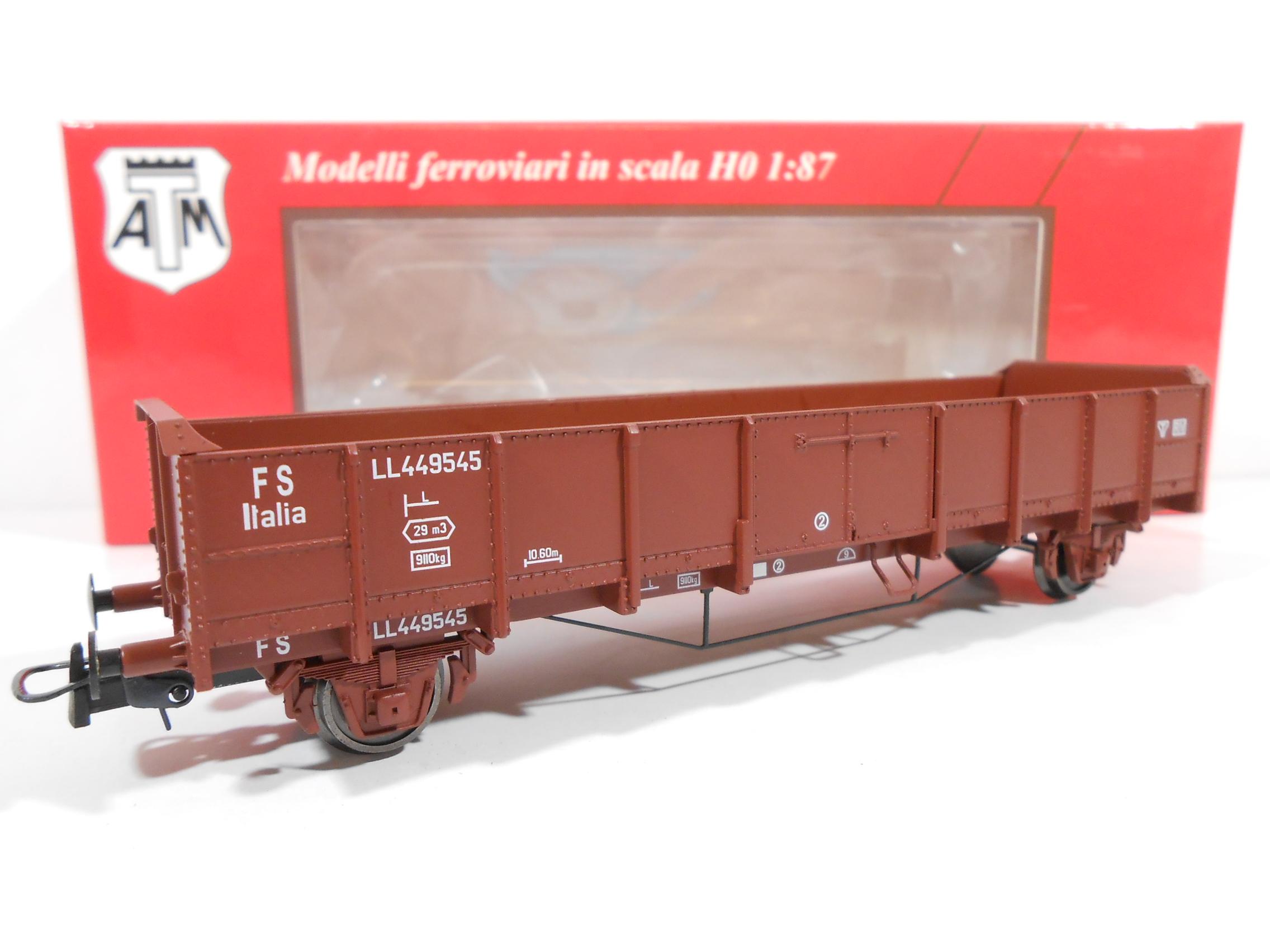 ATM CF 12.006 - Carro aperto Tipo LL (1956) #449545