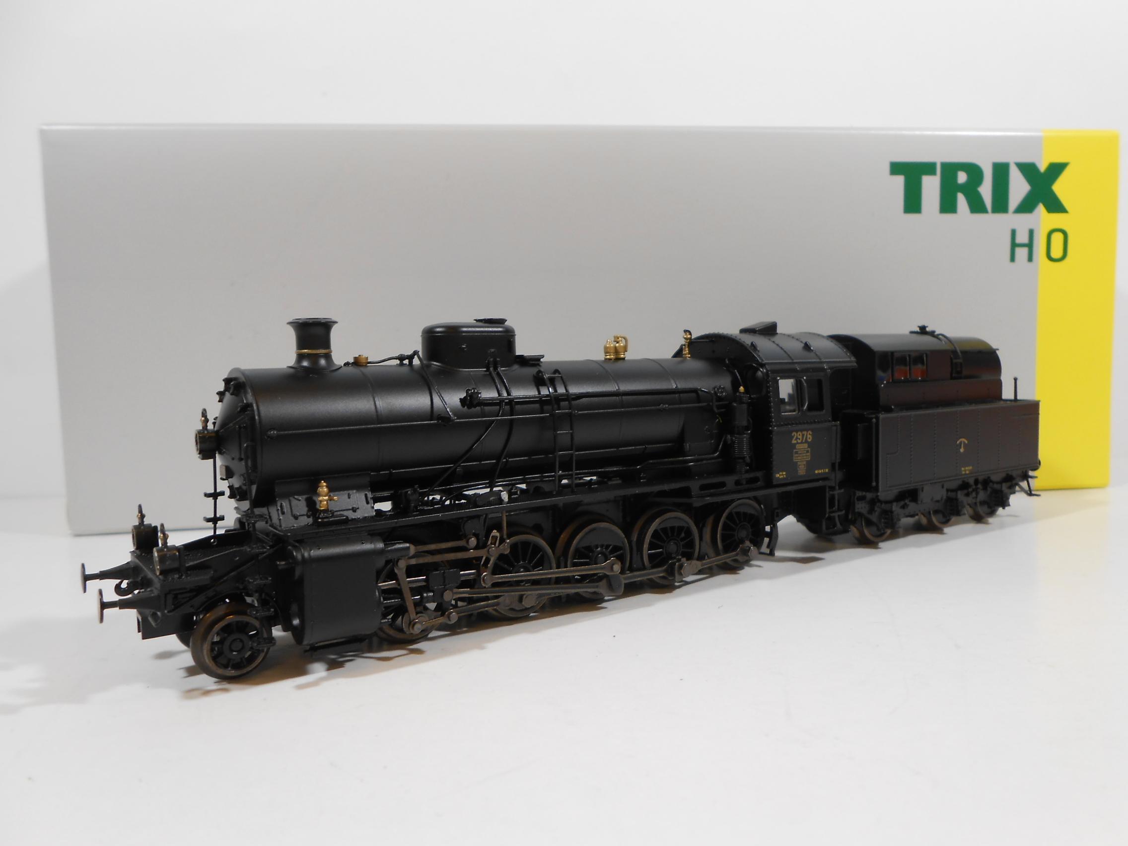 "TRIX 22926 - Locomotiva a vapore classe C 5/6 2976 ""Elefant"" SBB - Digital Sound"