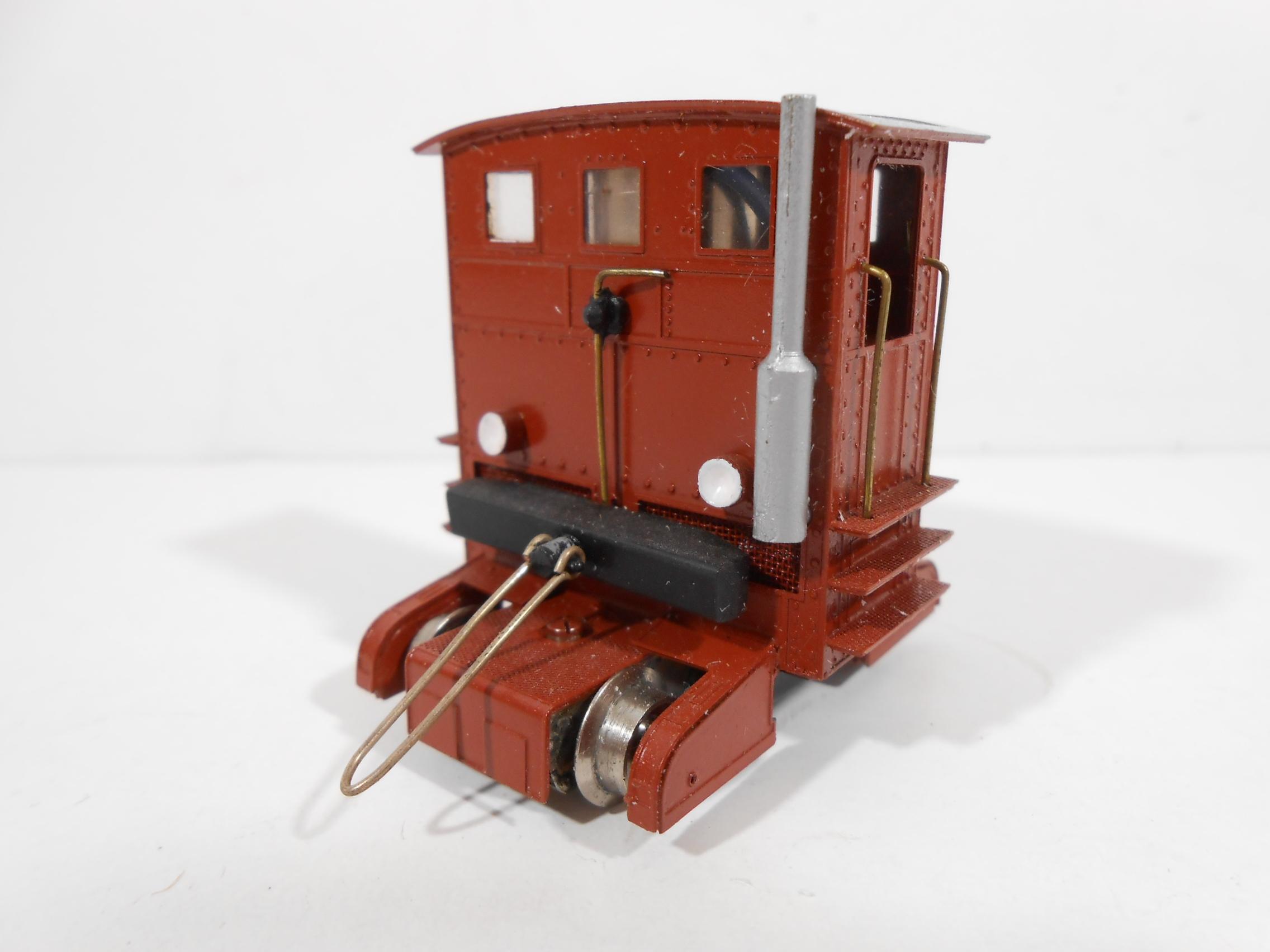 """SMF AG A301C - Trattore diesel """"Sogliola"""" tipo 1931 SBB livrea rossa - OTTONE"""