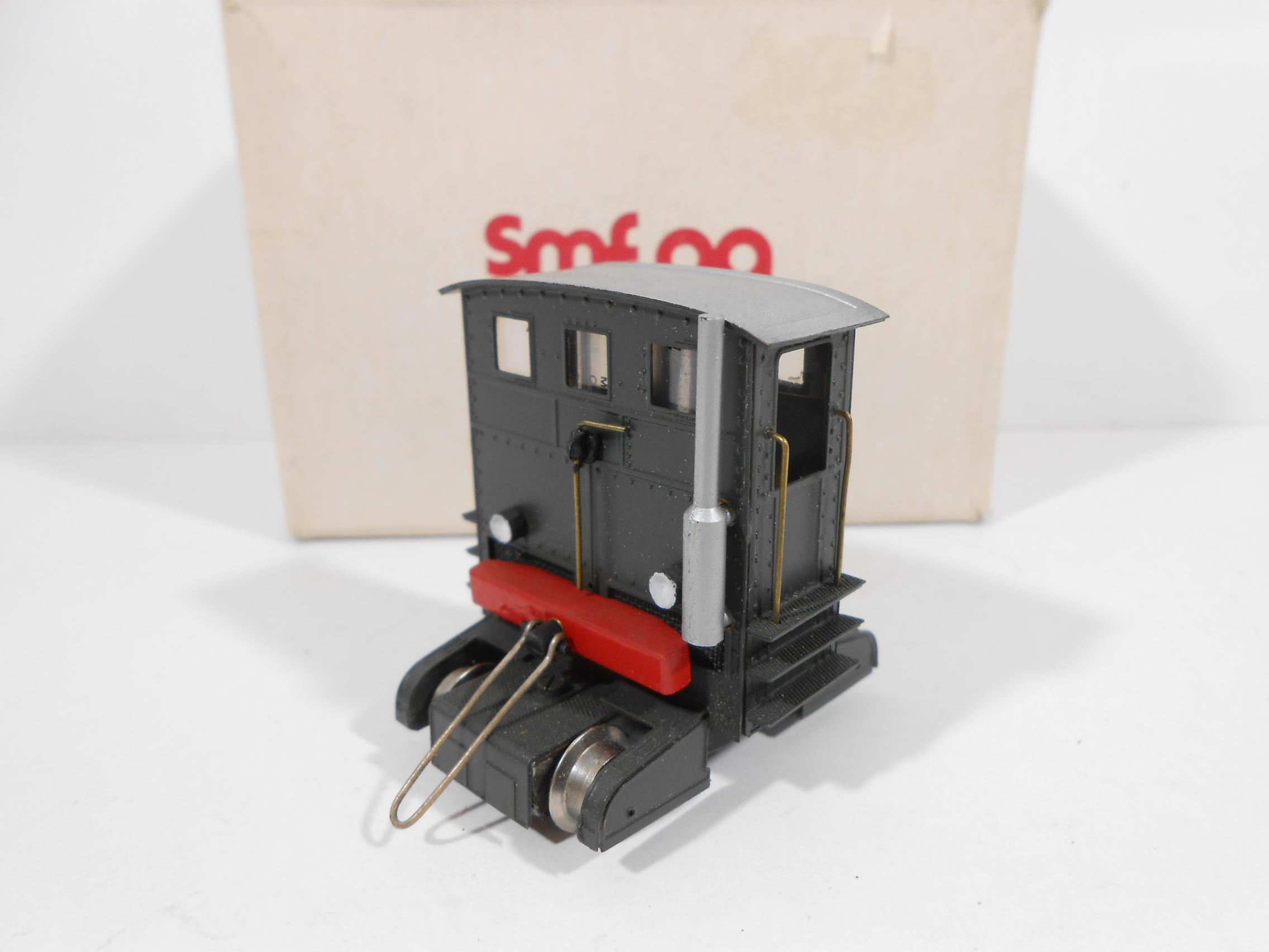"""SMF AG C303C - Trattore diesel """"Sogliola"""" tipo 1931 SBB livrea verde - OTTONE"""